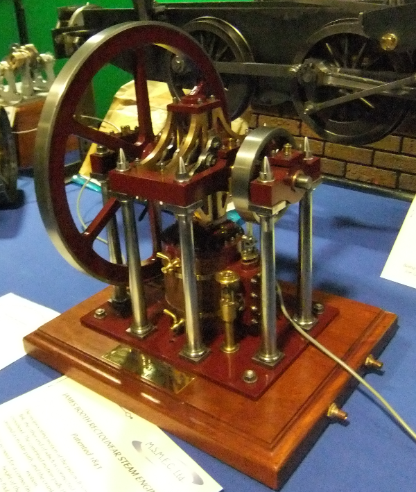James Booth Rectolinear Steam Engine