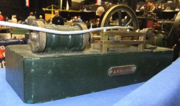A HORIZONTAL MILL ENGINE. Steven's Model Dockyard and other castings