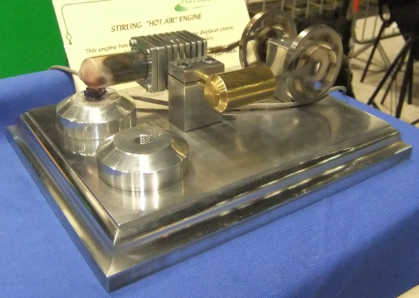 Stirling Engine from a kit supplied by Forest Classics.