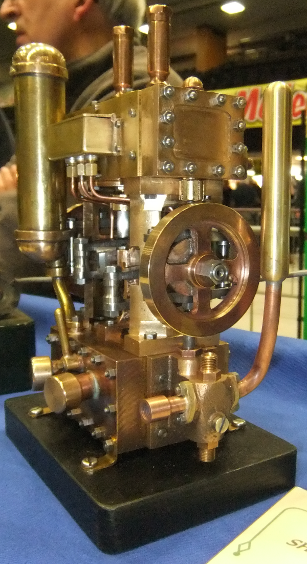 "SHAND MASON (1890) FIRE ENGINE STEAM PUMP. Scale: 2"" : 1 ft."