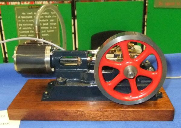 HORIZONTAL STEAM ENGINE Stuart Turner No. 8