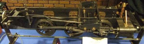 """""""Speedy"""" Locomotive 5"""" guage 0 – 6 – 0 Running Chassis in bare metal"""