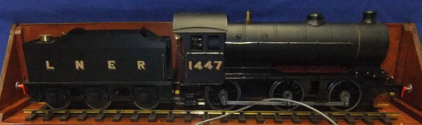 """LNER J38 0 – 6 – 0 TENDER LOCOMOTIVE Gauge 1, (1 3⁄4"""" or 45mm)."""