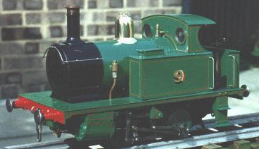 "Titch, a 3 1/2"" freelance 0-4-0 designed by LSBC"